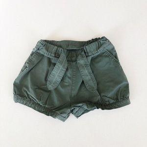 Green Uniqlo Shorts